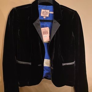Juicy couture velvet blazer